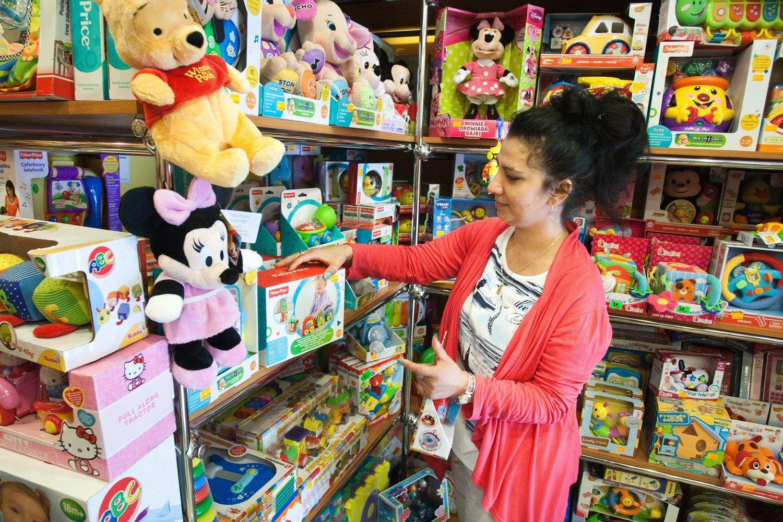 8eaf63f064dc85 Sklepy z zabawkami w Słupsku przeżywają ciężkie chwile<br>W sklepie Piotruś  w Słupsku