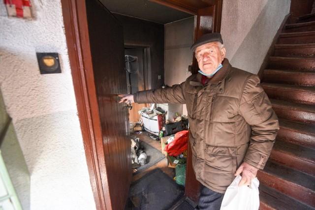 Mieszkanie Jana Walczaka spłonęło 25 stycznia