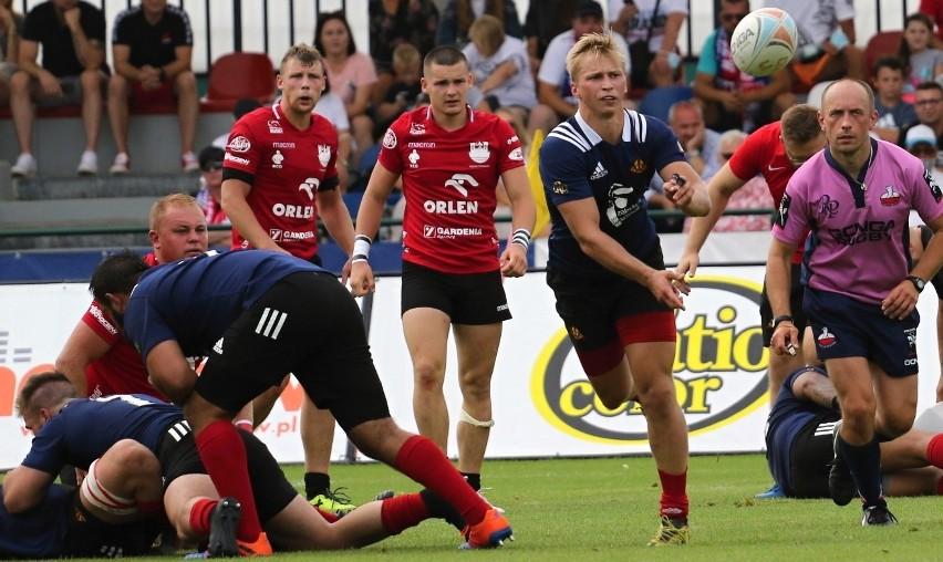 Ekstraliga rugby. Derby Mazowsza z tongijskim akcentem