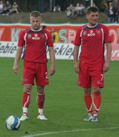 Marcel Surowiak (z lewej) i Marek Tracz.