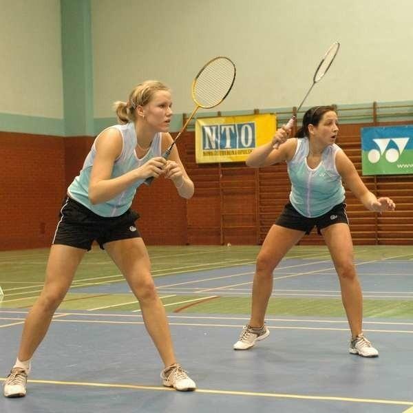Para Natalia Pocztowiak (z lewej) - Agnieszka Wojtkowska nie przegrała w tegorocznych rozgrywkach ligowych żadnego meczu.