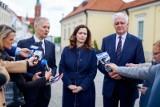 Wybory do Europarlamentu 2019. Wicepremier Jarosław Gowin oficjalnie wsparł Justynę Żalek kandydatkę do Parlamentu Europejskiego