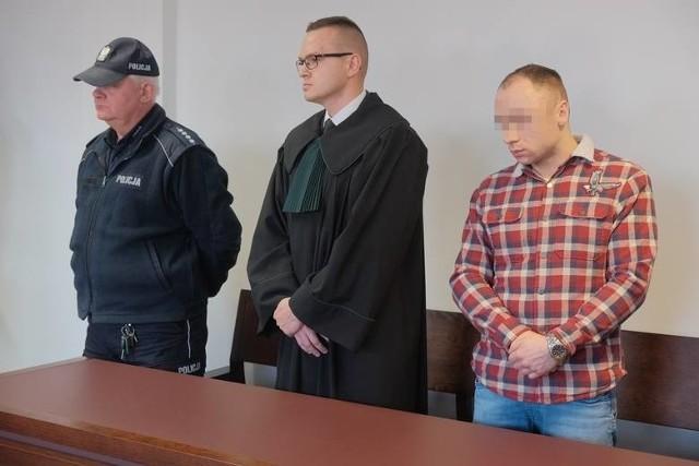 Zdjęcie z ogłaszania wyroku, styczeń 2019 roku