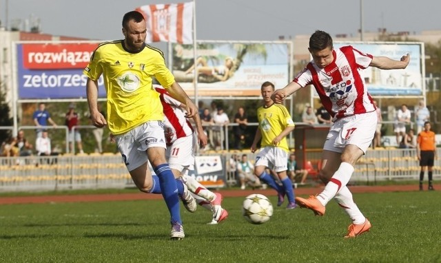 Michał Ogrodnik chciałby pograć w wyższej lidze.