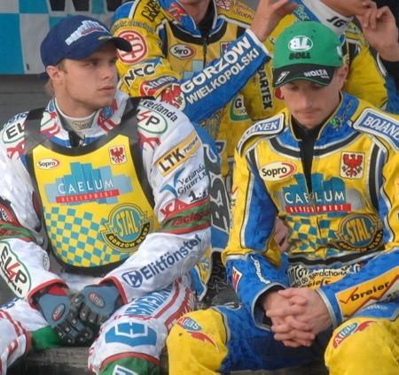 Thomas H. Jonasson (z lewej) na pewno będzie jeździł w Caelum Stali przez dwa najbliższe sezony, a Rune Holta - przez jeden