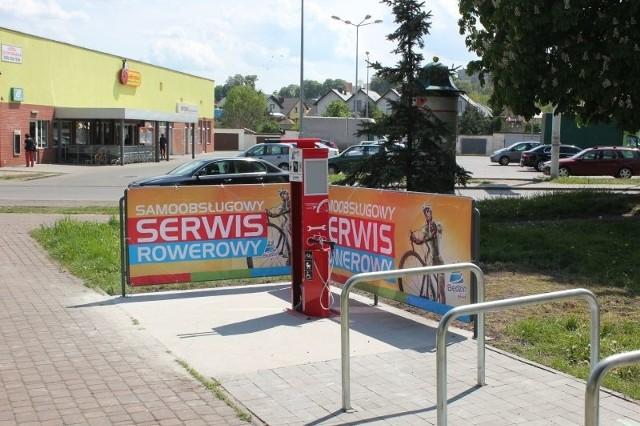 W Będzinie można korzystać z samoobsługowych serwisów rowerowych