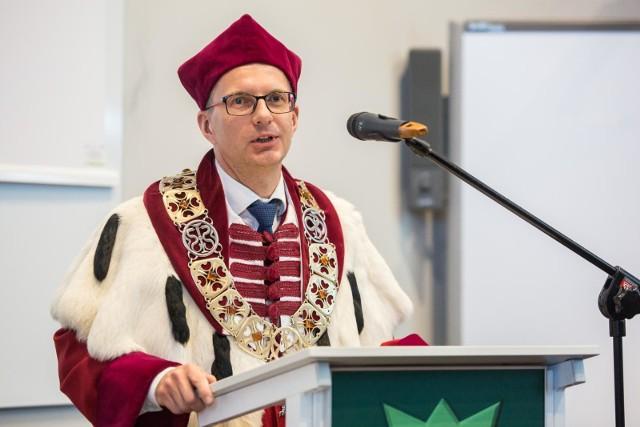 Prof. Marcin Gruchała, rektor GUMed