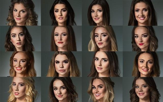 Dorosłe kandydatki do tytułu Miss Podlasia 2016