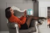 Podlaska blogerka modowa Alexdarg w świątecznej sesji zdjęciowej. Zainspiruj się! (ZDJĘCIA)