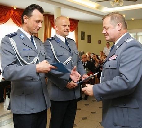 Na zdjęciu aspiranci sztabowi: Andrzej Muchla (po lewej) i Dariusz Milkiewicz.