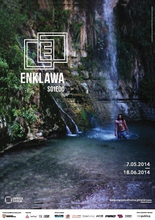 """Plakat projektu """"Enklawa"""""""