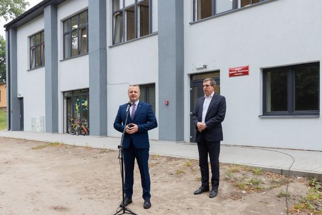 Zdjęcia z wizyty wojewody Mikołaja Bogdanowicza w Kruszwicy.