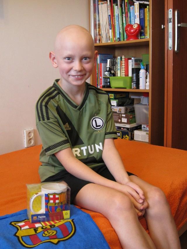10-letni Maciek marzy, aby zobaczyć na żywo mecz FC Barcelony