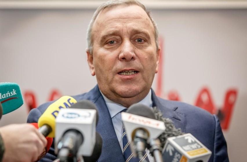Grzegorz Schetyna na konferencji w ECS podkreślił, że  Gdańsk jest ważnym miejscem dla Platformy Obywatelskiej