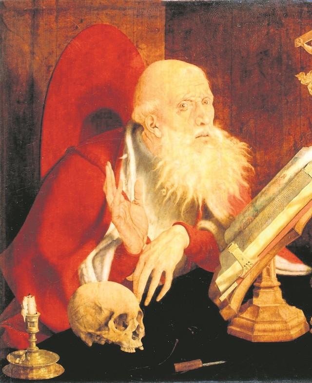 Marinus van Reymerswaele (ok. 1490 - ok. 1546), Święty Hieronim w pracowni, olej na desce dębowej