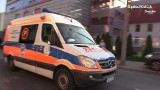 Chorzów: pożar w szpitalu przy ulicy Truchana, czyli ćwiczenia straży pożarnej i policji. Strażacy ewakuowali pacjentów