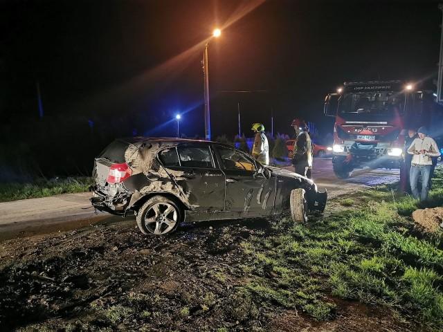 Do zderzenia w Opactwie doszło na skrzyżowaniu drogi krajowej numer 48 z wojewódzką numer 691 w ostatnią niedzielę wieczorem.