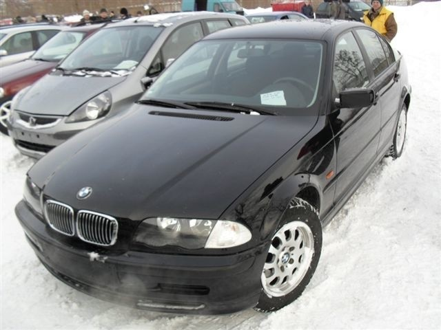 BMW E46, 1998 r., 1,8, ABS, centralny zamek, elektryczne szyby i lusterka, immobiliser, wspomaganie kierownicy, 16 tys. 700 zl + oplaty