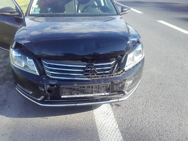 Gądki: Na drodze S11 zderzyły się cztery samochody