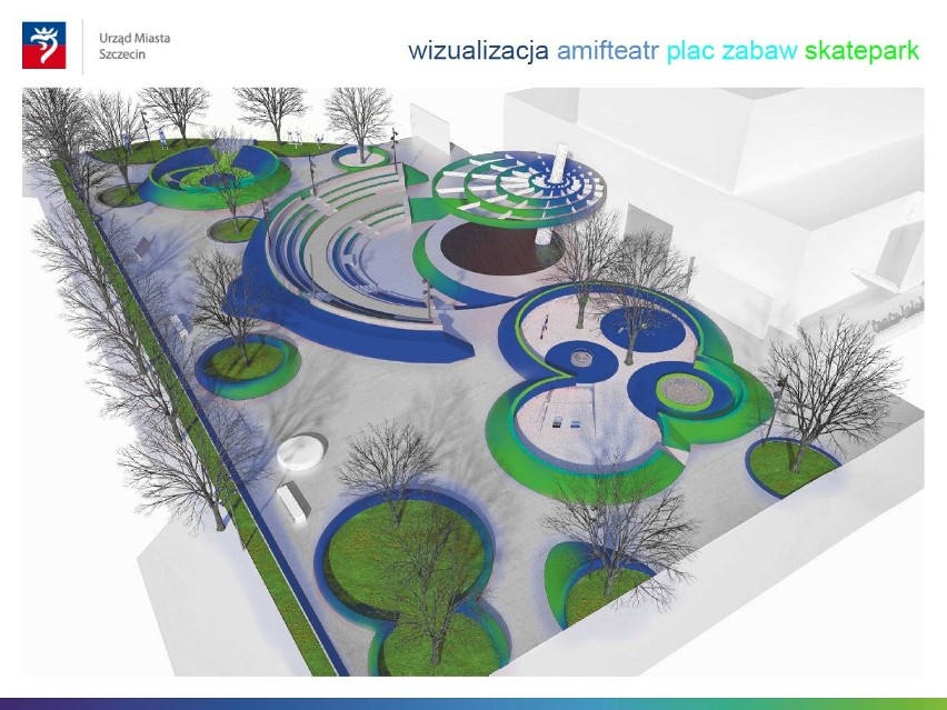 Szczecin: Amfiteatr przy Pleciudze? Zobacz, efektowny projekt! [wizualizacje]