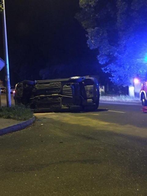 Zdjęcie z wypadku na ul. Ogrodowej w Zielonej Górze przysłał...