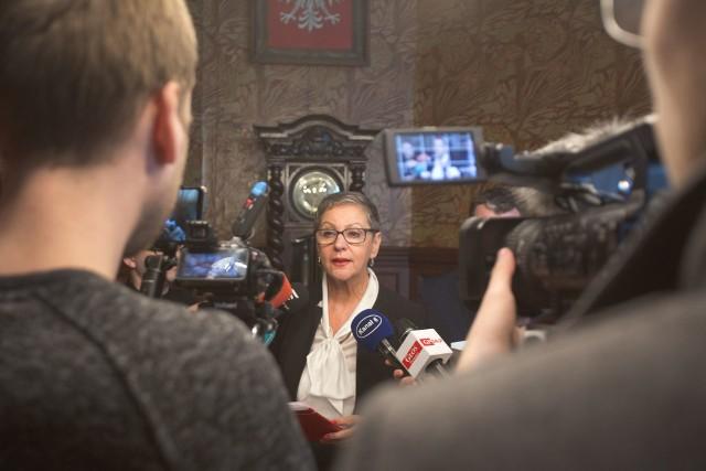 Prezydent Krystyna Danilecka-Wojewódzka.