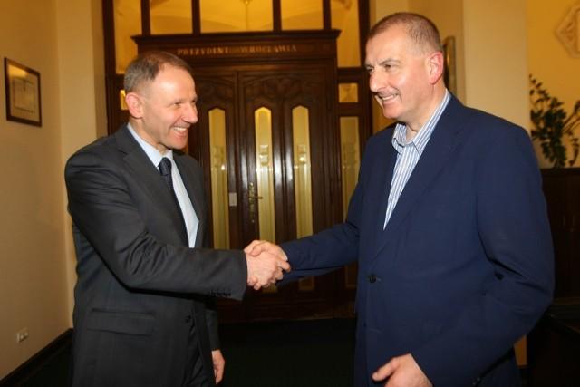 Jacek Protasiewicz i Rafał Dutkiewicz