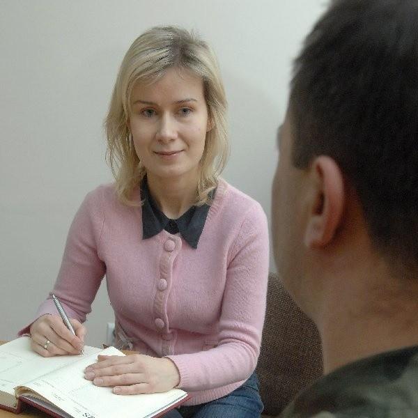 Aleksandra Kościelna, psycholog brygady
