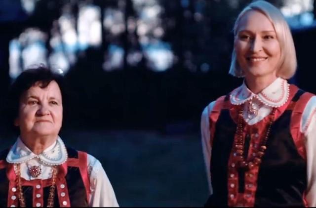 Apolonia Nowak i Anita Lipnicka