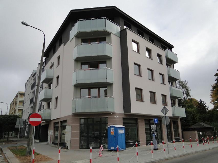 Nowy apartamentowiec powstał w centrum Radomia przy...