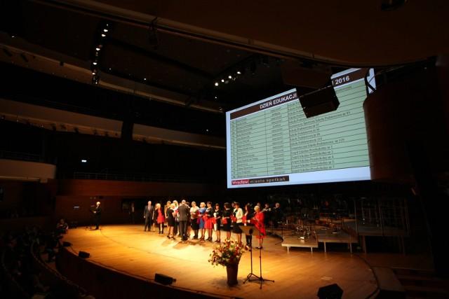 Gala z okazji Dnia Nauczyciela w zeszłym roku odbyła się w Narodowym Forum Muzyki