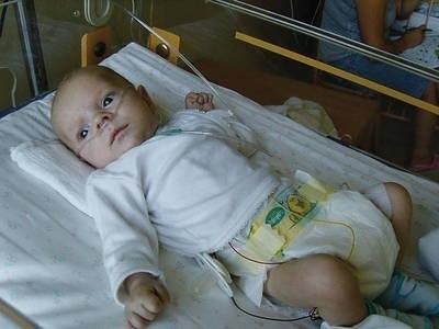 Gabryś przeszedł trzy operacje, w tym dwie serca FOT. ARCHIWUM