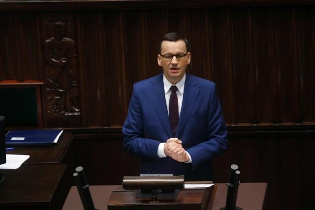 Koronawirus w Polsce. Sejm pracuje nad przyjęciem Tarczy Antykryzysowej. Premier przedstawił założenia pakietu ochronnego