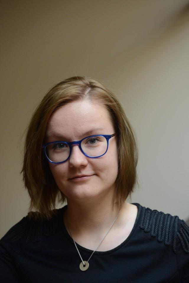 """Natalia Dyjas pracuje w zielonogórskim dziale miejskim """"Gazety Lubuskiej""""."""