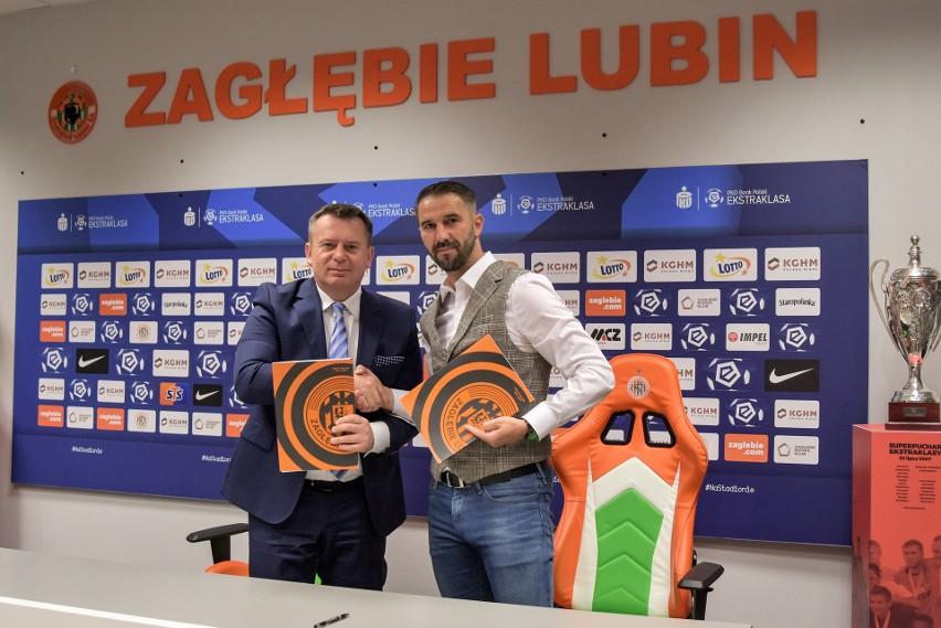 Martin Sevela podpisał nowy kontrakt z Zagłębiem Lubin