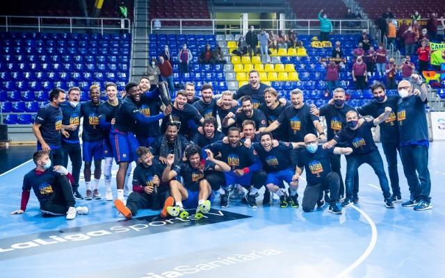 Barca 11. raz z rzędu została mistrzem Hiszpanii.