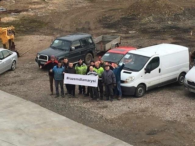 Zbiórka złomu, organizowana na rzecz Marysi przez OSP Kunice, cieszy się tak wielkim zainteresowaniem, że akcję przedłużono do końca lutego