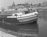 Statki na Warcie w Gorzowie? Kiedyś to było normalne! Zobacz unikalne zdjęcia Kurta Mazura z lat 50. i 60.