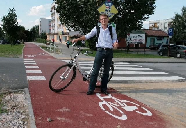 - Drogi dla rowerów na Południu praktycznie nie mają wad – mówi zadowolony Sebastian Pawłowski z Bractwa Rowerowego
