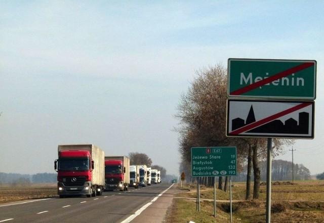 Odcinek Jeżewo - Mężenin to brakujący fragment S8 w kierunku Warszawy w naszym województwie