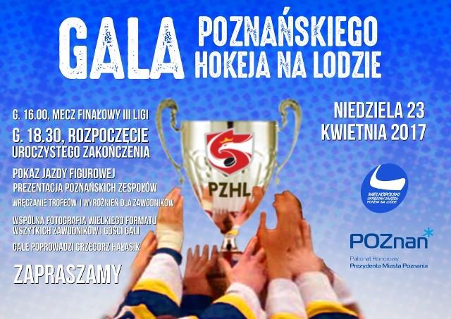 Kibice w niedzielę zobaczą stan posiadania poznańskiego hokeja, począwszy od drużyn młodzieżowych, a skończywszy na pierwszoligowych zawodnikach drużyny Hockey Club