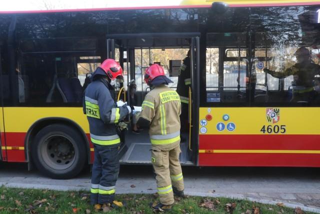 Wypadek z udziałem autobusu MPK przy ul. Obornickiej. Zdjęcie ilustracyjne