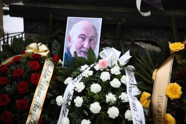 Przyjaciele i rodzina pożegnali w Krakowie kompozytora Antoniego Kopffa