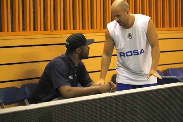 Kadeem Batts na treningu Rosy