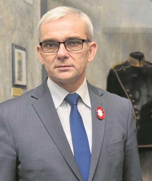 49-letni Tomasz Łęcki dyrektorem Wielkopolskiego Muzeum Niepodległości został kilka dni temu - 10 grudnia.