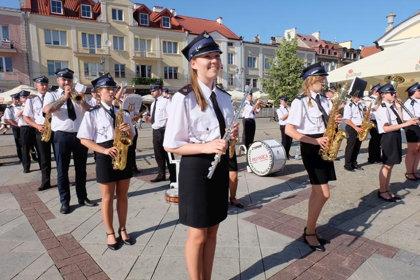 XXV Ogólnopolski Festiwal Orkiestr Ochotniczych Straży Pożarnych 2019 w Białymstoku