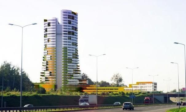 W Rudzie Śląskiej ma powstać najwyższy w regionie biurowiec, RADIUS - Silesian Business Center