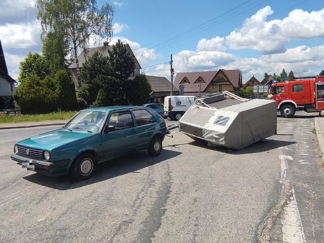 Wypadek w Piekielniku. Zdjęcia dzięki uprzejmości portalu Goral.info.pl
