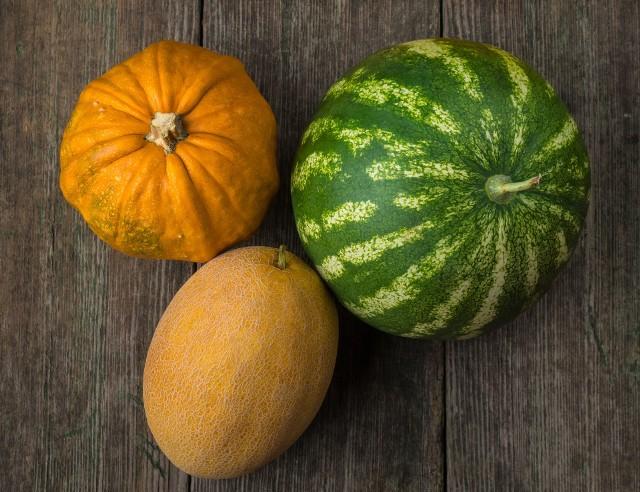Rośliny dyniowate kojarzą się przede wszystkim z tytułową dynią, podczas gdy w skład tej rodziny wchodzą też inne przepyszne warzywa, a także owoce! Są niezwykle soczyste, kolorowe, bardzo smaczne i sycące! Działają orzeźwiająco i odświeżająco. Niektóre świetnie nadają się do domowych przetworów, inne najlepsze są spożywane na surowo, a inne – upieczone. Dyniowate są przede wszystkim świetną opcją dla osób odchudzających się, bowiem są bardzo niskokaloryczne. Dostarczają mnóstwo potasu i beta-karonenu, który wykazuje działanie przeciwutleniające. Mają stosunkowo niewiele błonnika, co przedkłada się na to, że są łatwostrawne i sprawia, że mogą być spożywane przez osoby z zaburzeniami funkcjonowania przewodu pokarmowego. Czy potrafisz bez zastanowienia wymienić 6 rodzajów roślin dyniowatych? Bez względu na to, czy odpowiedziałeś: tak lub nie, z pewnością dowiesz się wielu ciekawych faktów na temat tej wyjątkowej grupy roślin.