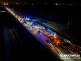 Wypadek na A4. Karambol pod Tarnowem. Autostrada w stronę Rzeszowa zablokowana! Do szpitala trafiło dwoje dzieci, w tym niemowlę